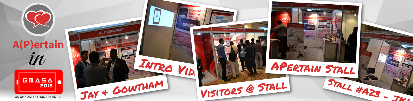 APertain in GMASA 2016 – a Collage