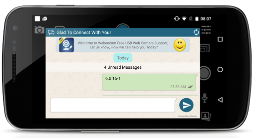 Mobile In-App Support Offline Messaging